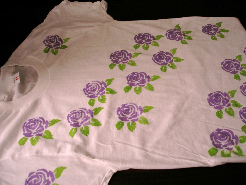 Flower shirt 002