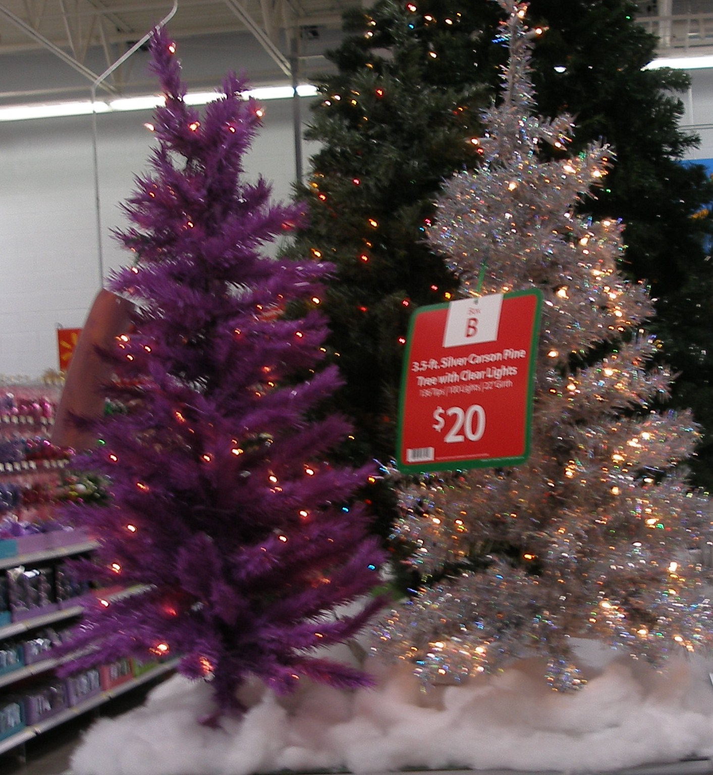 heres - Purple Christmas Tree