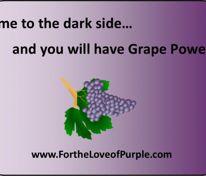 Come to the Dark PURPLE Side…
